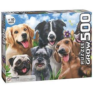 Quebra Cabeça Puzzle Selfie Pets Cachorrinhos da Grow 03742