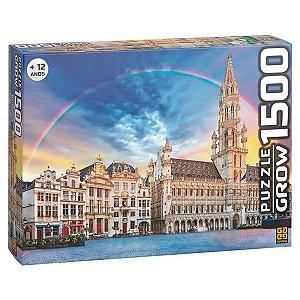 Quebra Cabeça Puzzle Bruxelas com 1500 Peças da Grow 03736