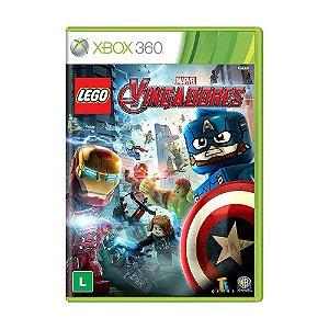 Jogo Novo Lacrado Lego Marvel Vingadores Xbox 360 Português