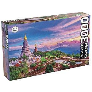 Quebra Cabeça Puzzle Tailandia com 3000 Peças da Grow 03738