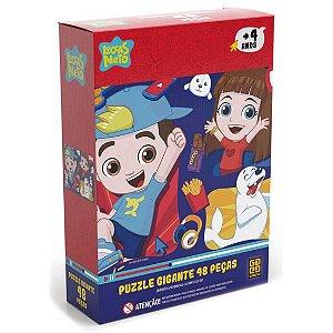 Quebra Cabeça Puzzle Gigante Luccas Neto 48 Peças Grow 03766