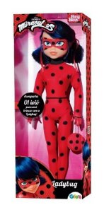 Boneca Original Miraculous Ladybug 55cm Baby Brink