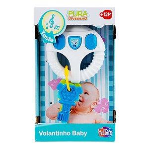 Brinquedo Pura Diversao Volantinho Baby +12m Sortido 20070