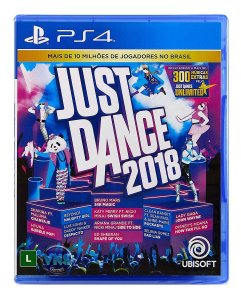 Jogo Dança Just Dance 2018 Ps4 Mídia Física Lacrado Musical