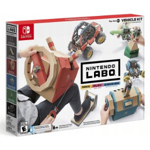 Novo Nintendo Labo Toy Con 03 Vehicle Kit de Veiculo Lacrado