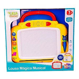 Brinquedo Pura Diversao Lousa Magica Musical YesToys 20094