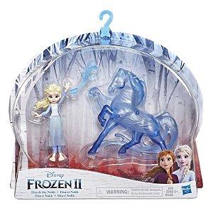 Figura Disney Frozen 2 Pack Mini Elsa e Nokk da Hasbro E5504