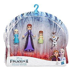 Figura Disney Frozen 2 Pack Mini Kit de Familia Hasbro E5504