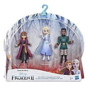 Figura Disney Frozen 2 Pack Mini Kit de Viagem Hasbro E5504