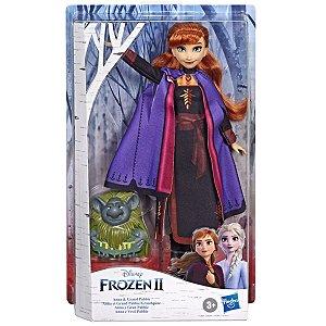 Boneca Disney Frozen 2 com Amigo Anna e Vovo Pabbie E8751