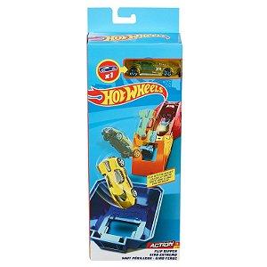 Hot Wheels Acrobacias Giro Feroz e Carrinho da Mattel Fwm85