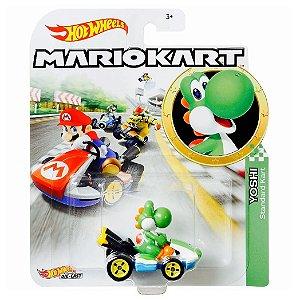 Hot Wheels Mario Kart Yoshi e Standart Kart da Mattel Gbg25