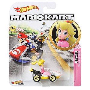 Hot Wheels Mario Kart Peach e Standart Kart da Mattel Gbg25