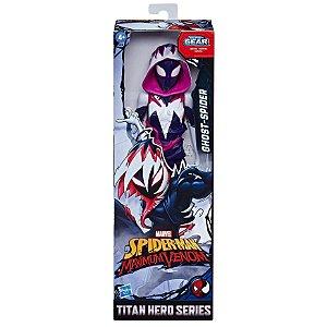 Figura Marvel Spider Man Maximum Venom Ghost Spider E8686