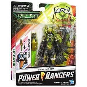 Boneco Power Rangers Beast Morphers Cyber Vilao Roxy E5915