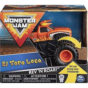 Brinquedo Monster Jam Rev n Roar Sortido Unitario Sunny 2023