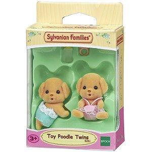 Sylvanian Families Figura Gemeos Poodle Toy da Epoch 5261
