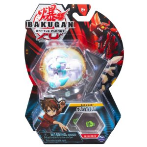 Figura e Card Bakugan Battle Planet Gorthion da Sunny 2070
