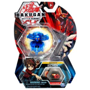 Figura e Card Bakugan Battle Planet Vicerox da Sunny 2070