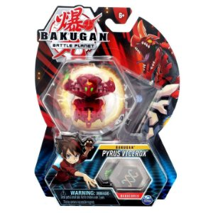 Figura e Card Bakugan Battle Planet Pyrus Vicerox Sunny 2070