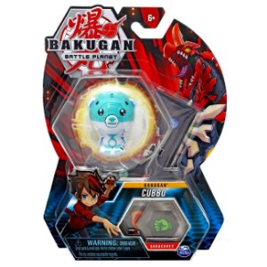 Figura e Card Bakugan Battle Planet Esfera Cubbo Sunny 2070