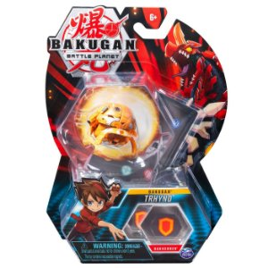 Figura e Card Bakugan Battle Planet Esfera Trhyno Sunny 2070
