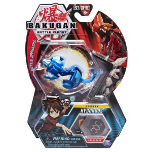 Figura e Card Bakugan Battle Planet Hydorous da Sunny 2070