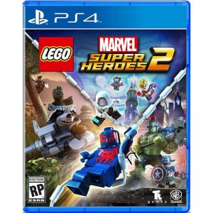 Jogo Novo Midia Fisica Lego Marvel Super Heroes 2 para Ps4