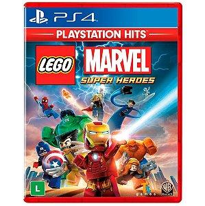 Jogo Midia Fisica Lego Marvel Super Heroes Original para Ps4