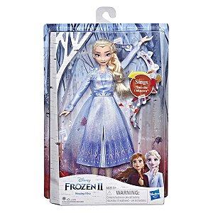 Boneca Disney Frozen 2 Singing Elsa Cantora da Hasbro E5498