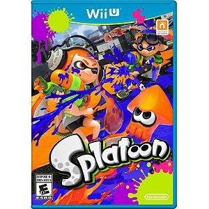 Jogo Novo Midia Fisica Splatoon Original para Nintendo Wii U