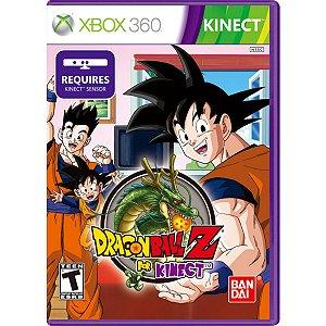 Jogo Novo Midia Fisica Dragon Ball Z For Kinect pra Xbox 360