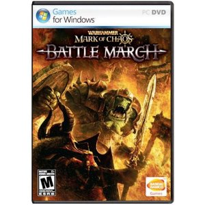 Jogo Midia Fisica WarHammer Mark of Chaos Battle March de PC
