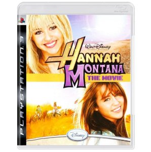 Jogo Midia Fisica Disney Hannah Montana The Movie para Ps3