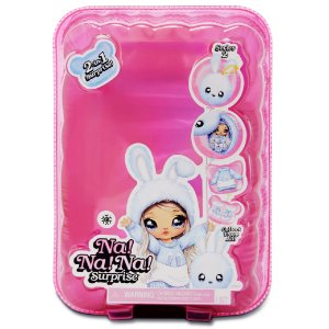Boneca Na Na Na Surprise 2 em 1 Pom Doll Series Candide 1600