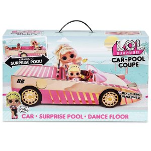 Boneca e Veiculo Lol Surprise Car Pool Coupe da Candide 8942