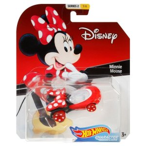 Hot Wheels Disney Character Cars Minnie Mouse Mattel Gck28
