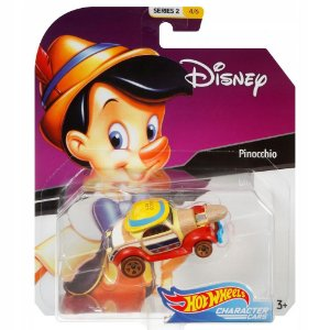 Hot Wheels Disney Character Cars Pinoquio da Mattel Gck28