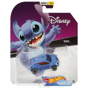 Hot Wheels Disney Character Cars Veiculo Stitch Mattel Gck28