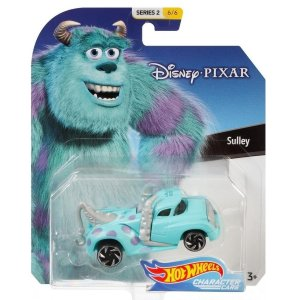 Hot Wheels Disney Character Cars Veiculo Sulley Mattel Gck28