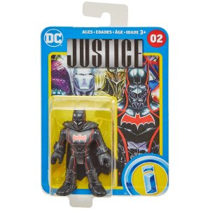 Figura Imaginext DC Batman Ediçao HQ Justice Armor 02 Glf00