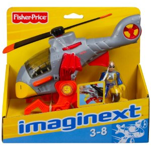 Figura Imaginext Sky Racers Veiculo Aviao Hawk Copter T5308