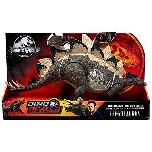 Figura Jurassic World Dino Rivals Stegosaurus Mattel Gdl05