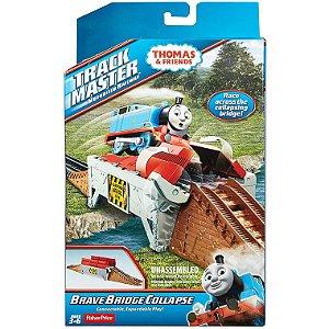 Thomas e Seus Amigos Pista Via Brave Bridge Collapse Bmk81