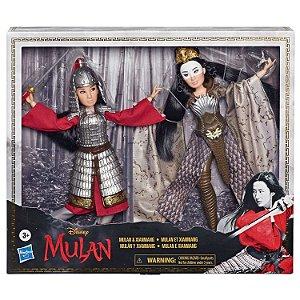 Boneca Disney Mulan e Xianniang Articulada da Hasbro E8691