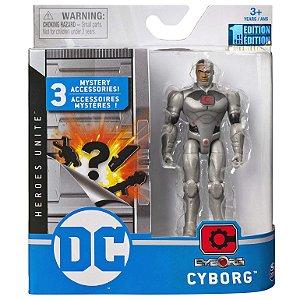 Figura DC Liga da Justiça Heroes Unite Cyborg da Sunny 2189
