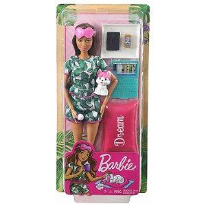 Boneca Barbie Fashionista Um Dia de Spa Relaxamento Gkh73