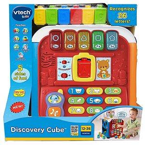 Brinquedo Super Cubo de Descobertas com Som VTech YesToys