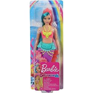 Boneca Barbie Dreamtopia Sereia de Cauda Roxa Mattel Gjk07