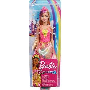 Boneca Barbie Dreamtopia Vestido de Flores da Mattel Gjk12
